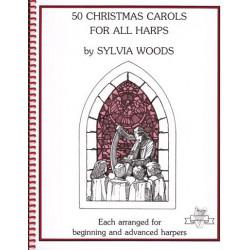 Woods Sylvia - 50 Christmas Carols for all harps