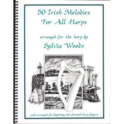 Woods Sylvia - 50 Irish melodies for all harps