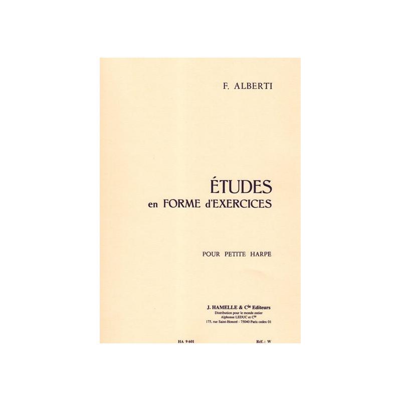 Alberti Freddy - Etudes en forme d'exercices