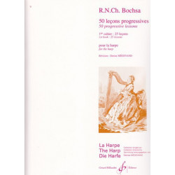 Bochsa Nicola-Charles - 50 leçons progressives (Vol. 1) pour la harpe