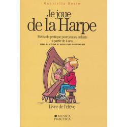 Bosio Gabriella - Je joue de la harpe à partir de 4 ans
