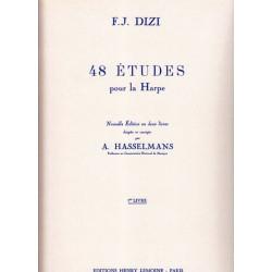 Dizi François Joseph - 48 études pour la harpe, Vol. 1