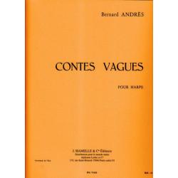 Andrès Bernard - Contes Vagues pour harpe