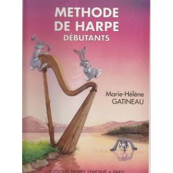 Gatineau Marie-Hélène - Méthode de harpe vol. 1 (débutants)