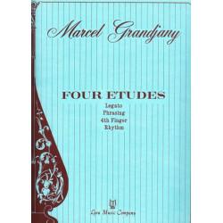 Grandjany Marcel - 4 études