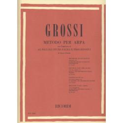 Grossi Maria - Méthode pour harpe