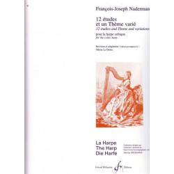 Naderman François-Joseph - 12 études & 1 thème varié