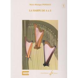 Popesco Marie-Monique - La harpe de A à Z. Volume 1