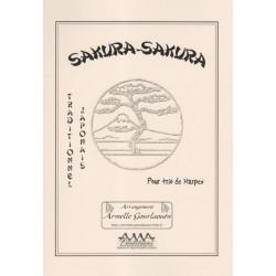 Divers - Sakura - Sakura (traditionnel japonais)(3 harpes)