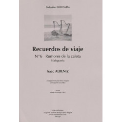 Albeniz Isaac - Recuerdos de Viaje N° 6 (2 harpes)
