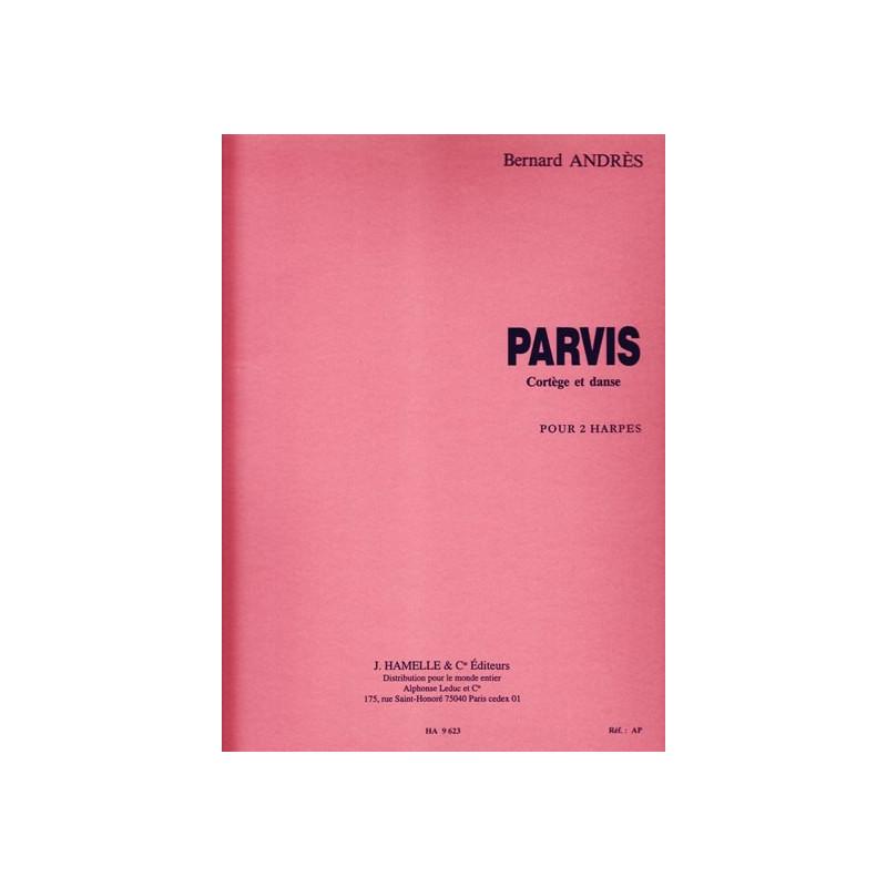 Andres Bernard - Parvis (2 harpes)
