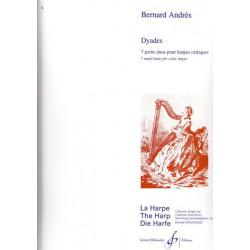 Andrès Bernard - Dyades (Sept petits duos pour harpe celtique)