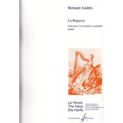 Andrès Bernard - La Ragazza (suite pour deux ou quatre petites ou grandes harpes