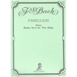 Bach Johann Sebastian - Prélude de la partita n°3