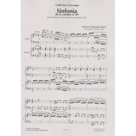 Bach Johann Sebastian - Sinfonia de la cantate N