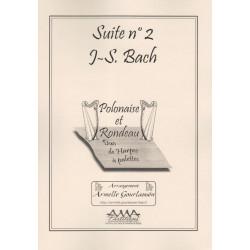 Bach Johann Sebastian - Suite N° 2 (2 harpes celtiques)