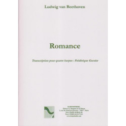 Beethoven Ludwig van - Romance (4 harpes)