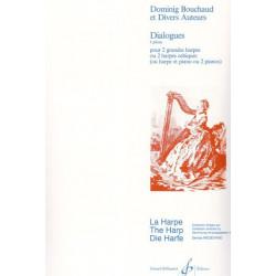 Bouchaud Dominig - Dialogues (2 harpes celtiques ou classiques)