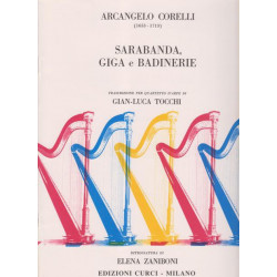 Corelli Arcangelo - Sarabande, gigue et badinerie
