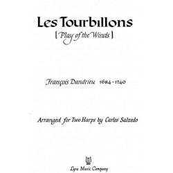 Dandrieu François  - Les tourbillons (deux harpes)
