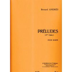 Andrès Bernard - Préludes 2° cahier