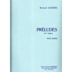Andrès Bernard - Préludes 3° cahier