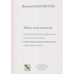 Fleurette Bernard - Petite suite orientale 3 : Sable