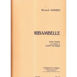 Andrès Bernard - Ribambelle Dix pièces faciles pour harpe