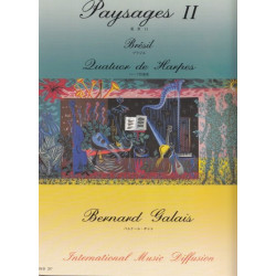 Galais Bernard - Paysages II : Brésil (4 harpes)