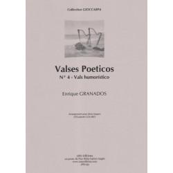 Granados Enrique - Valses poeticos N° 4 Vals humoristico