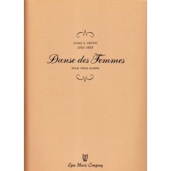 Gretry André E. - Danse des femmes (3 harpes)
