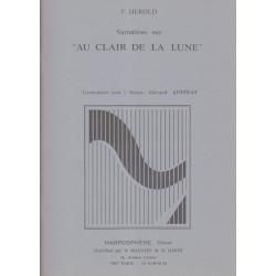Hérold Ferdinand - Variations/Au clair de la lune