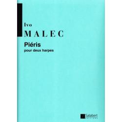 Malec Ivo - Pieris (pour deux harpes)