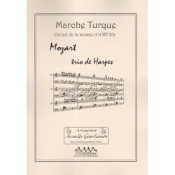 Mozart Wolfgang Amadeus - Marche turque (extrait de la sonate n°11 KV 331)