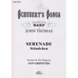 Schubert Franz - Sérénade (Standchen) (2 harpes)