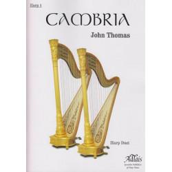 Thomas John - Cambria (harp duet)