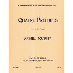 Tournier Marcel - 4 pr