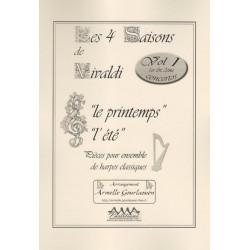 Vivaldi Antonio - Les quatre saisons vol. 1 (2 harpes