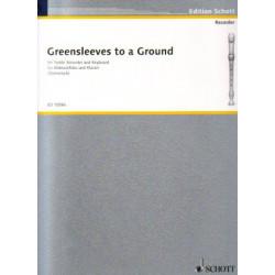 Anonyme - Greensleeves (sopranblockfl