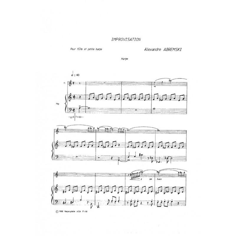 Abremski Alexandre - Improvisation