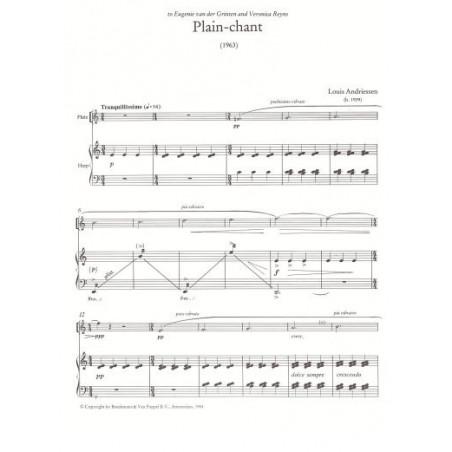 Andriessen Louis - Plain chant