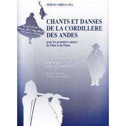 Arriagada Sergio - Chants et danses de la cordillere des Andes (fl