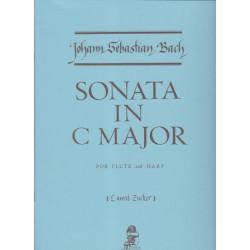 Bach Johann Sebastian - Sonate en Do Majeur (fl