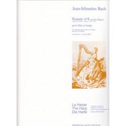 Bach Johann Sebastian - Sonate n°4 en Do M, BWV 1033