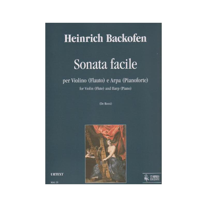 Backofen Heinrich - Sonate facile per violino (flauto) e arpa (pianofo