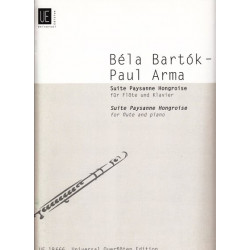 Bartok Bela - Suite Paysanne hongroise (fl