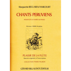Beclard d'Harcourt Marguerite - Chants P