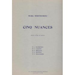 Berthomieu Marc - 5 Nuances