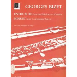 Bizet Georges - Entr'acte & menuet suite 2 (l'Arl