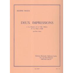 Bozza Eugène - Deux impressions (flûte & harpe)
